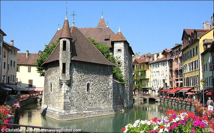 Palais de l'isle d'Annecy
