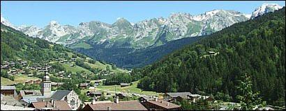 Photos de ski de paysages et d 39 v nements au grand - Office du tourisme le grand bornand village ...