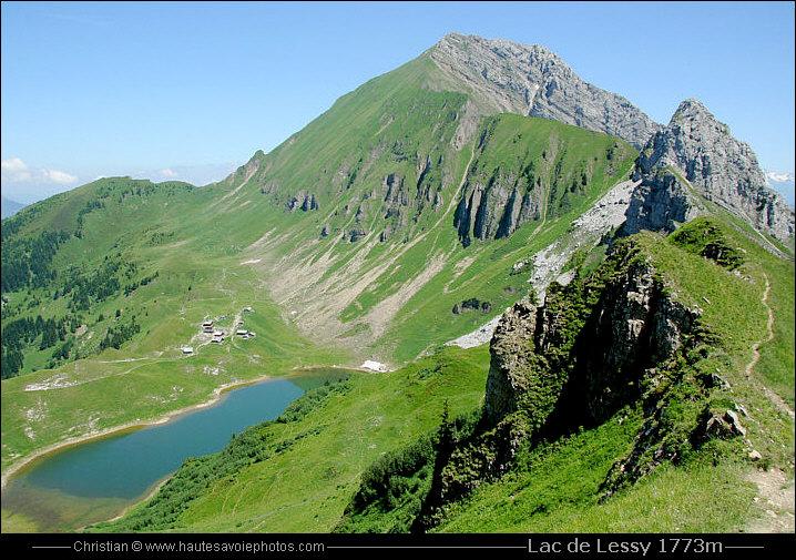 Lac de lessy 1733m - Meubles de montagne haute savoie ...