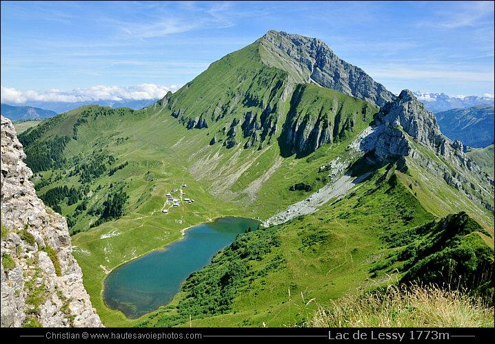 Lac de Lessy 1733m