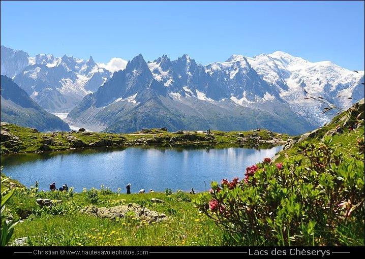 Les lacs des ch serys et le mont blanc - Meubles de montagne haute savoie ...