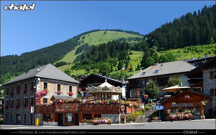 74390 ch tel village et station de ski dans le chablais - Office de tourisme chatel 74 ...
