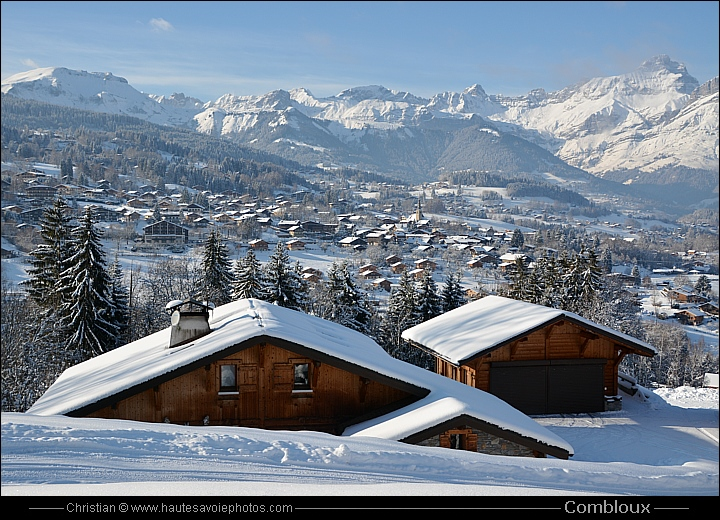 Photos du village de combloux en haute savoie - Office du tourisme combloux location ...