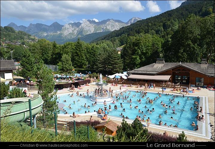 La belle piscine du grand bornand dans un cadre magnifique - Piscine le grand bornand ...